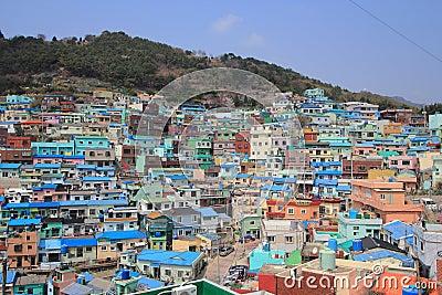 Gamcheondong Culture Village Editorial Photo