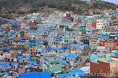 Gamcheondong Culture Village Editorial Image