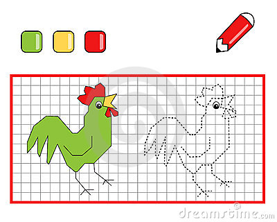 game 105, The rooster to be color