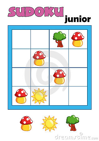 Free Game 91, Sudoku 10 Royalty Free Stock Image - 18065286