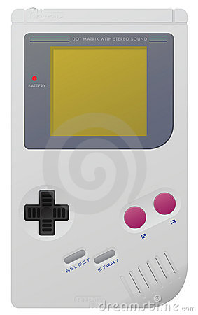Game Boy Editorial Stock Photo