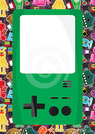Game Machine Seamless Pattern_eps