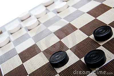 Game in checkers