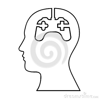 Game controller icon image Vector Illustration