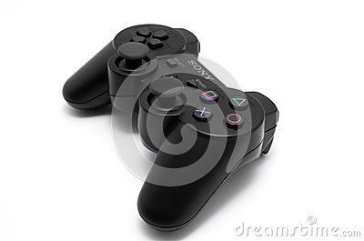 Game controller Editorial Stock Image