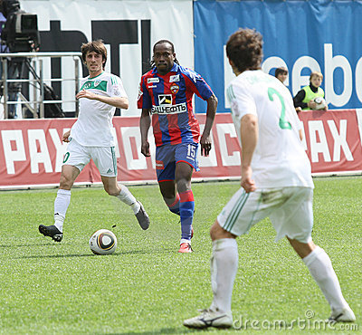 Game CSKA Moscow vs. Terek Grozny Editorial Image
