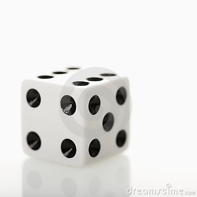 Free Game Die. Royalty Free Stock Photography - 3531837