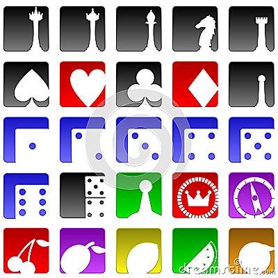 Free Game Icons Stock Photos - 14702043