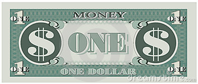 Game Money - One Dollar Bill Stock Photo - Image: 12785230