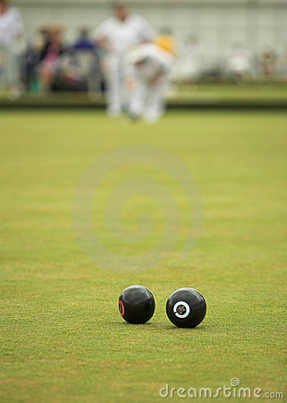 Free Game Of Lawn Bowls Stock Photo - 5906620