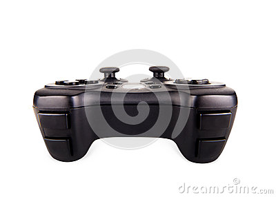 Game pad on white