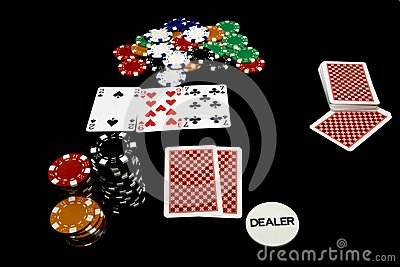 In game Poker holdem