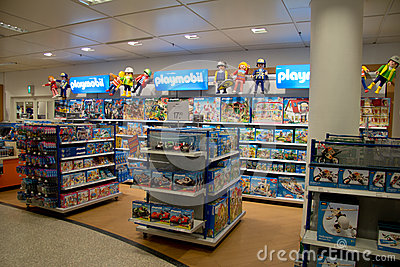 Game store for kids Editorial Image