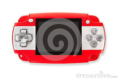 Gamepad isolated on a white