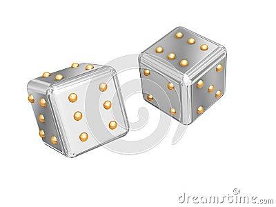Games cubes.