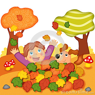 Free Games In Autumn Stock Photos - 26831423