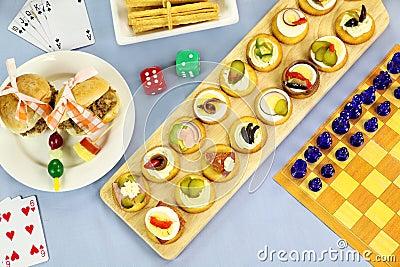 Games Night Food