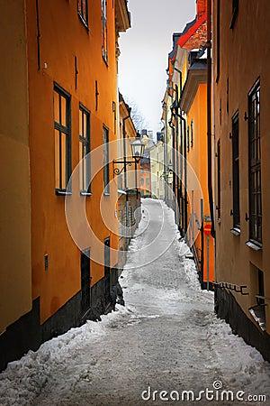 Gamla Stan Stockholm street