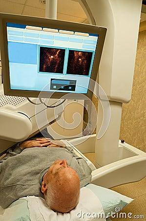 Free Gamma Camera Patient Image Stock Image - 25148051