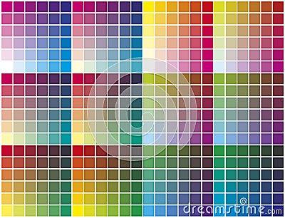 Gamma di colori di colore immagine stock immagine 23225661 - Immagine di lucertola a colori ...