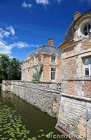 Gammal fransk herrgård