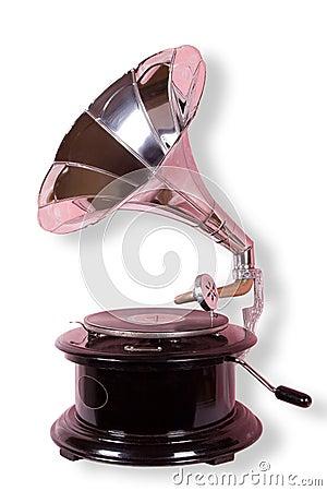 Gammal grammofon