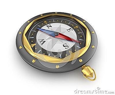 Gammal stil för kompass