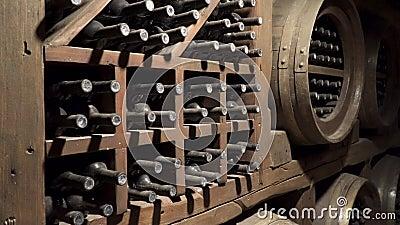 gammal wine Vinlagringsrum