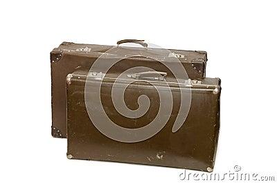Gammala resväskor två