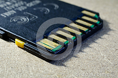 Gammalt SD-minneskort