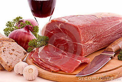 Gammon with Bread and Wine