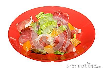 Gammon salad