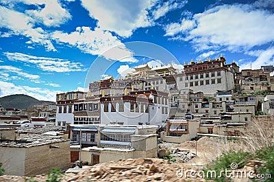 Ganden Sumtseling Monastery in Shangrila, China Editorial Stock Photo