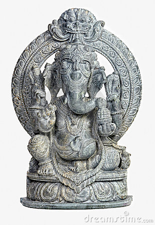 Free Ganesh Sculpture Stock Photography - 10930982