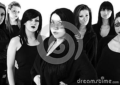 Gang of seven women