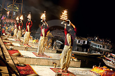 Ganga Seva Nidhi ceremony  in Varanasi Editorial Photo