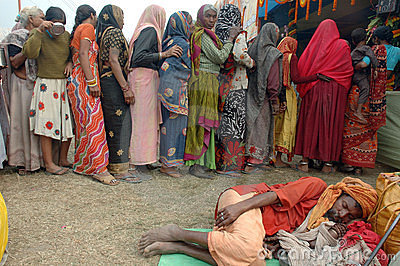 Gangasagar Festival In India. Editorial Stock Photo