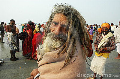 Gangasagar Festival In India. Editorial Image
