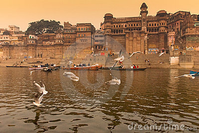 The Ganges river.India Editorial Photo