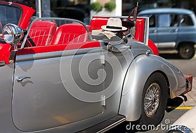 Gangster car