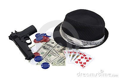 Gangster gambling kit