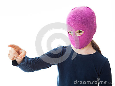 Gangster Girl giving direction