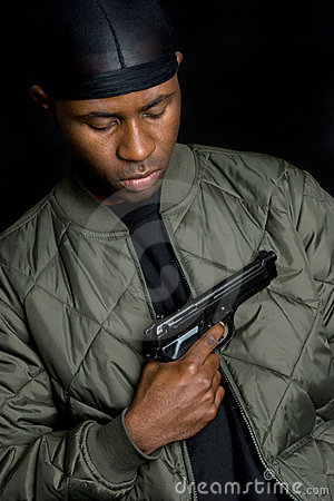 Gangster Gun Boy Royalty Free Stock Photos Image 7354208
