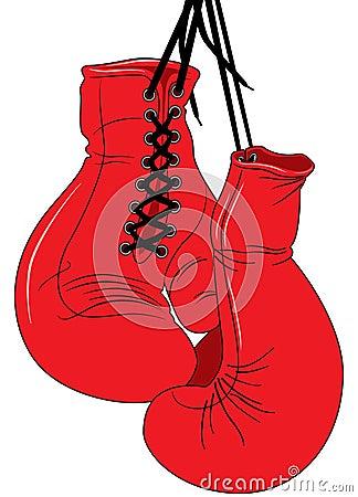 Gants de boxe photos libres de droits image 7613558 - Gant de boxe a lacet ...