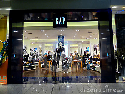GAP Retail Store Editorial Photo