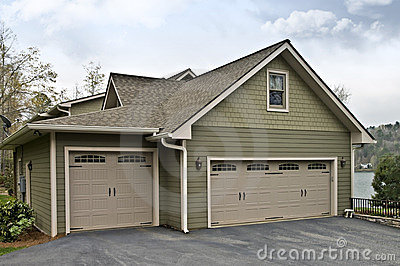 Garage Doors on House
