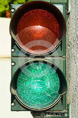 Garage traffic lights