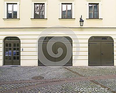 Garages and door