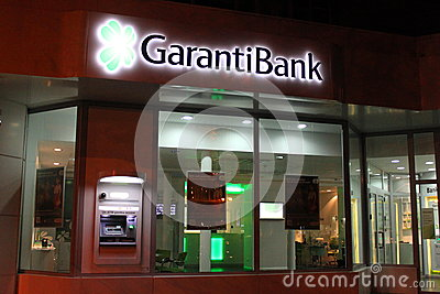 Garanti Bank Editorial Photography