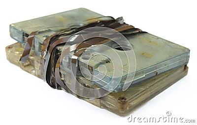 Garbage audio cassette